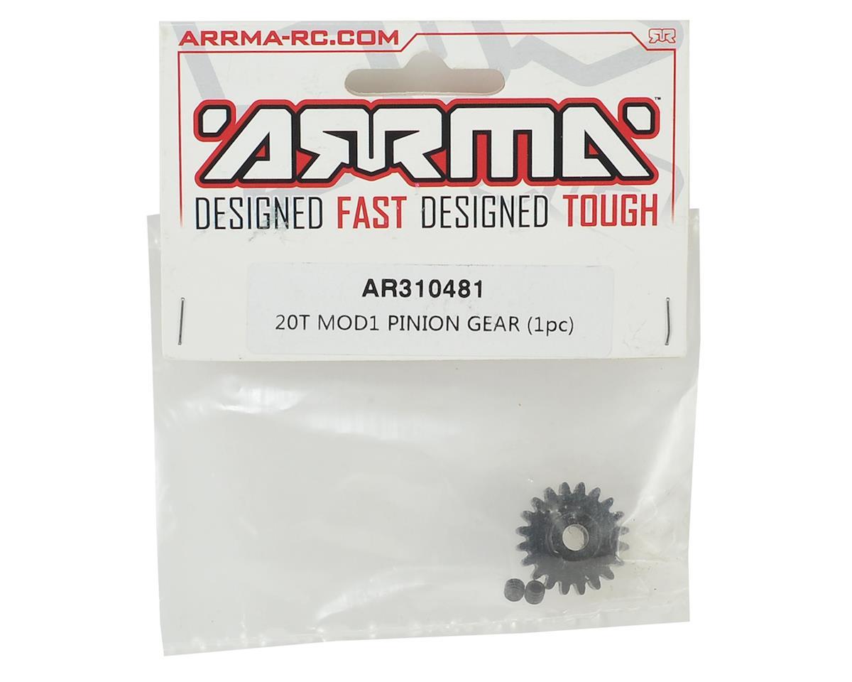 Arrma Steel Mod1 Pinion Gear (w/5mm Bore) (20T)