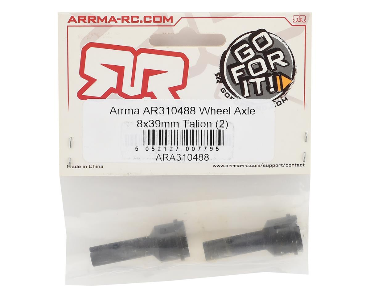 AR310488 Wheel Axle 8x39mm Talion (2) by Arrma