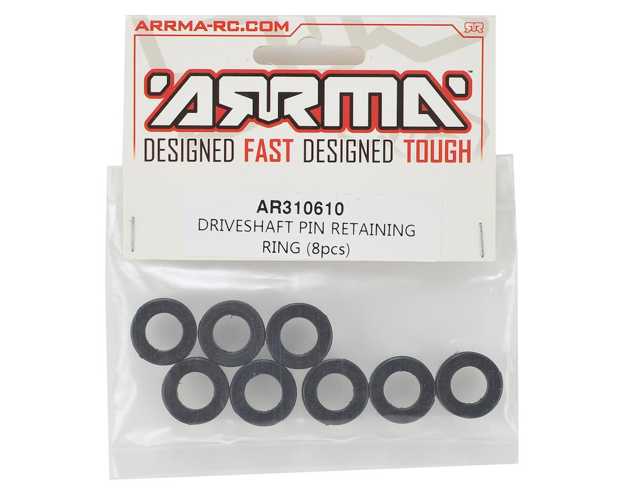 Arrma Driveshaft Pin Retaining Ring (8)