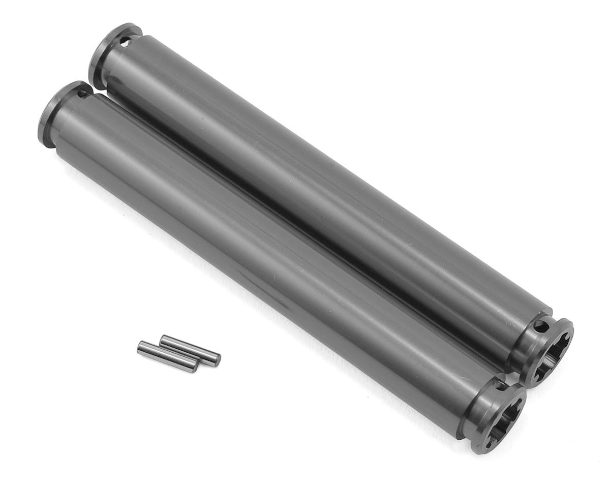 80mm Slider Driveshaft (Gun Metal) (2) by Arrma