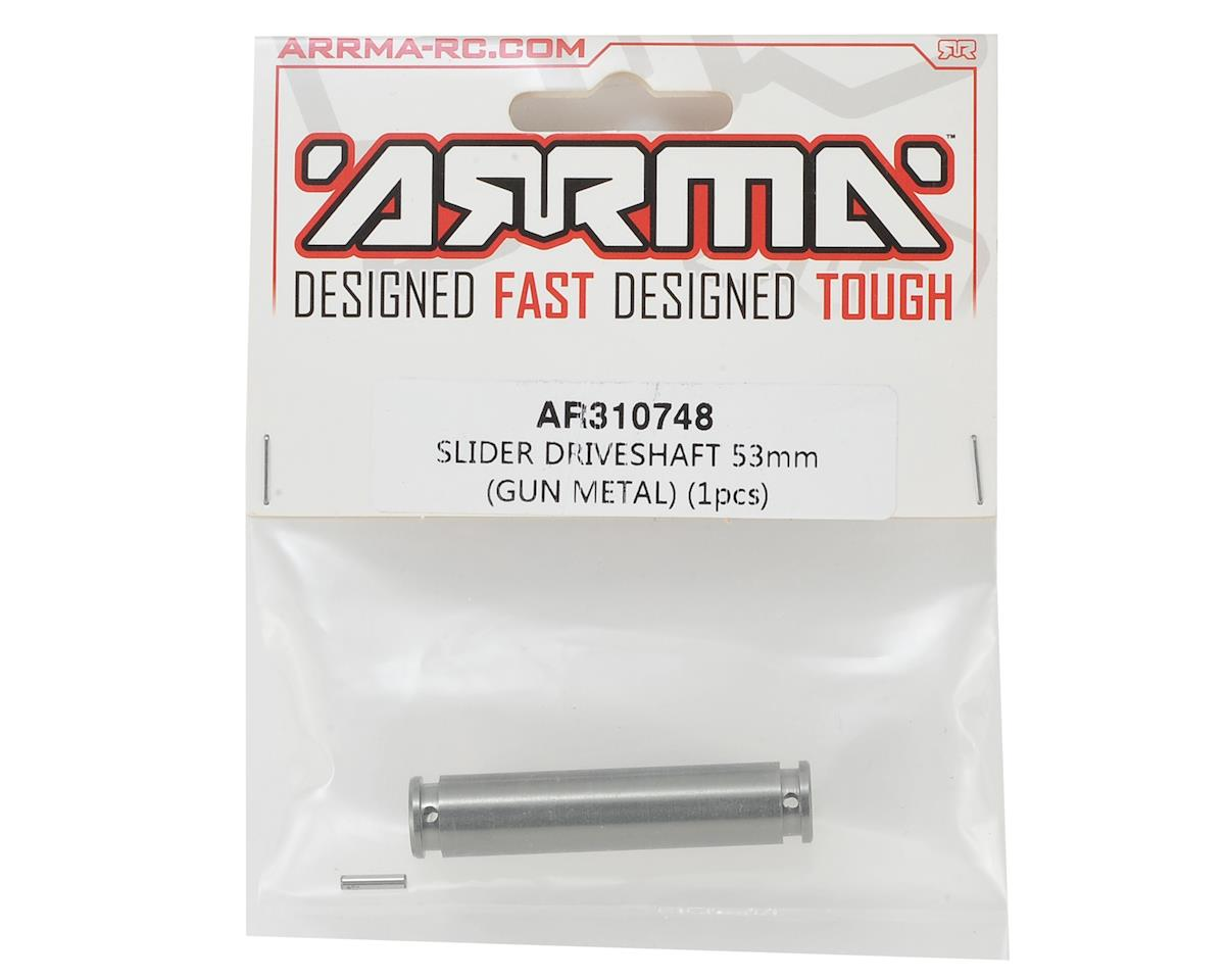 Arrma 53mm Slider Driveshaft (Gun Metal) (1)