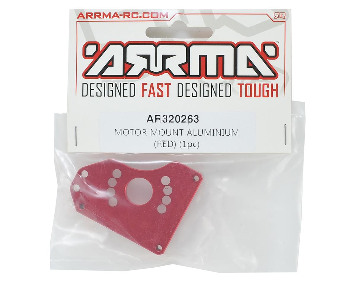 Arrma Aluminum Motor Mount (Red)