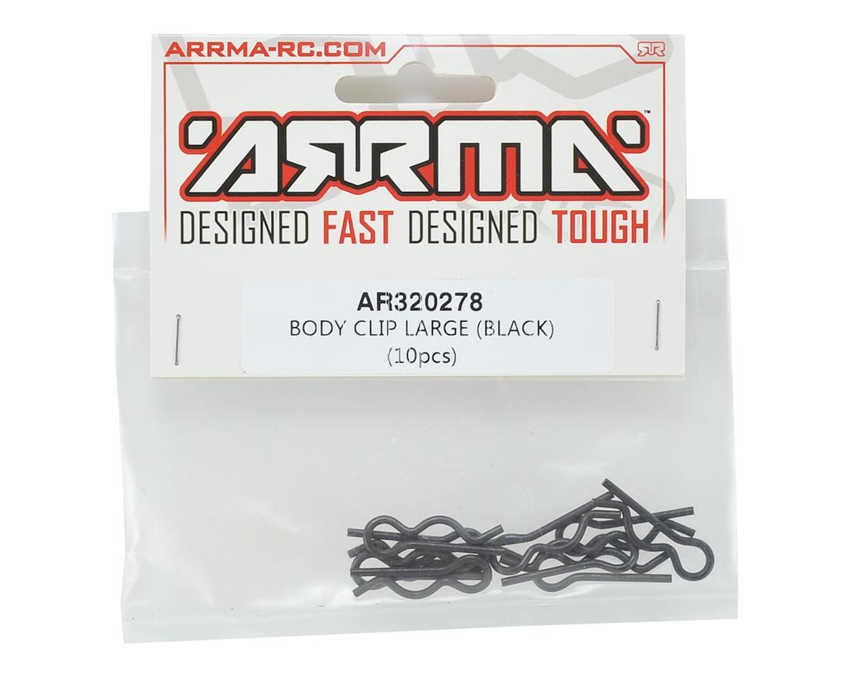 Arrma Large Body Clip (Black) (10)