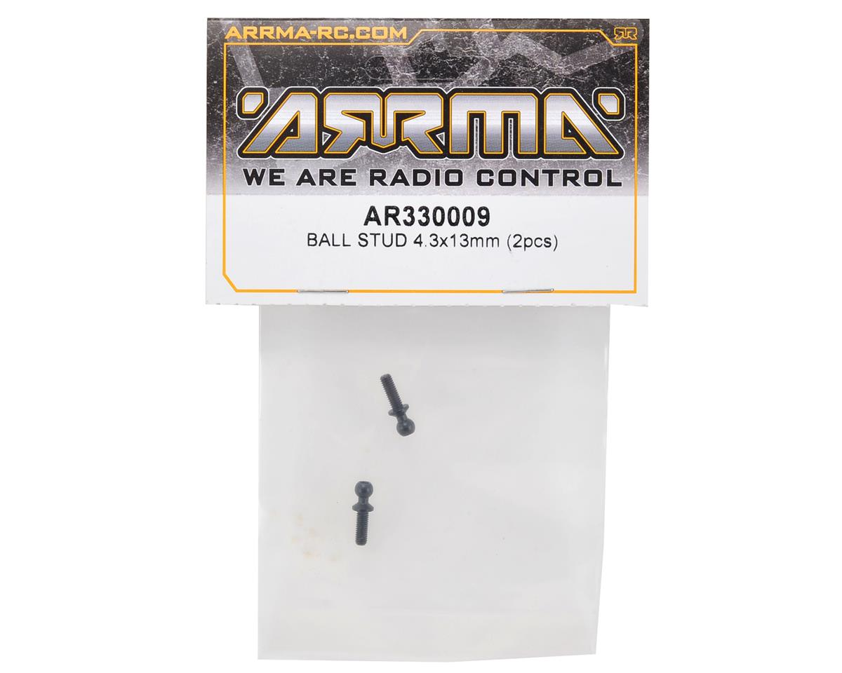 Arrma 4.3x13mm Ball Stud Set (2)
