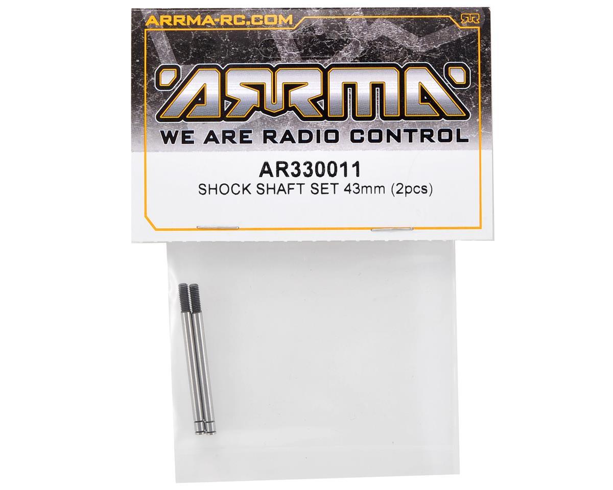 Arrma 43mm Front Shock Shaft Set (2)