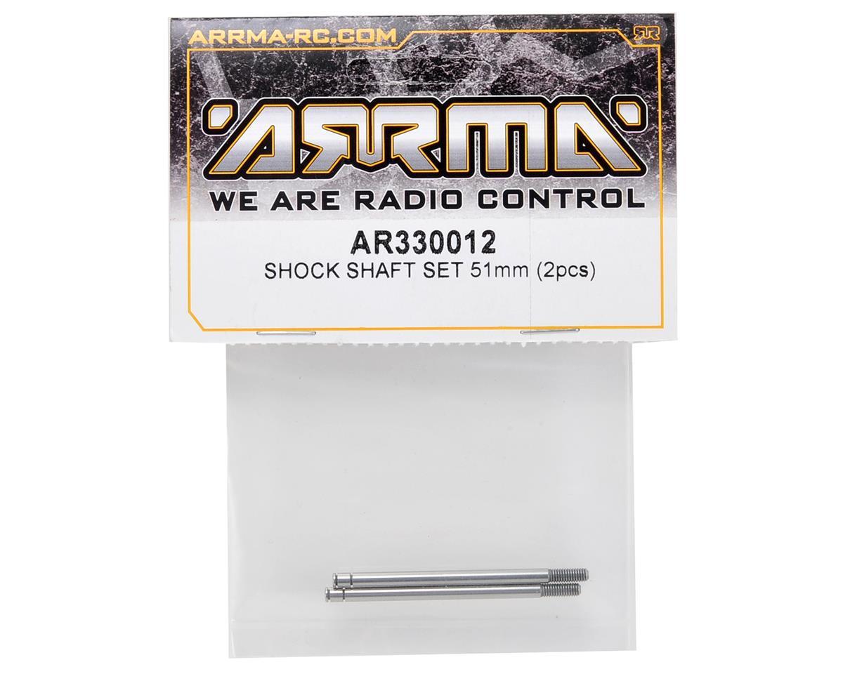 Arrma 51mm Rear Shock Shaft Set (2)