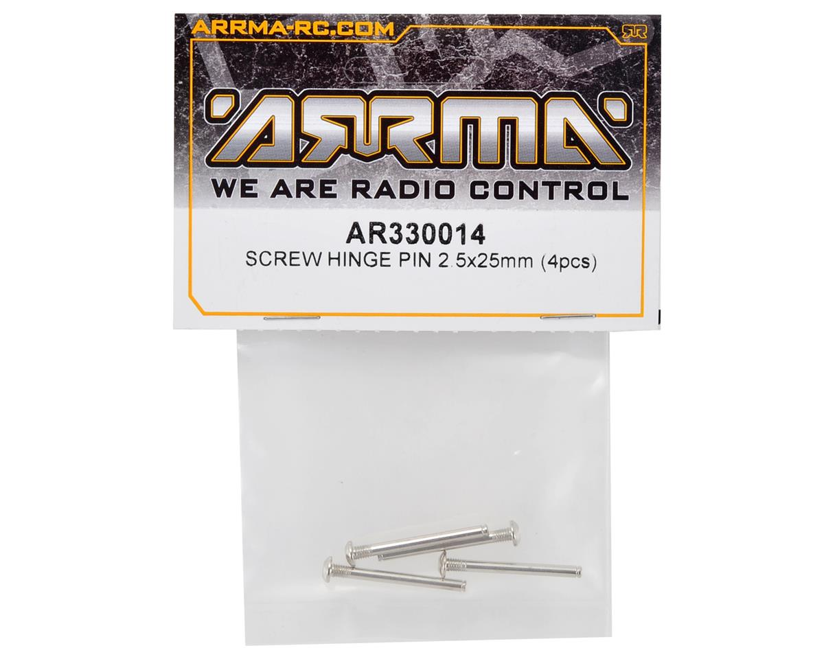 Arrma 2.5x25mm Screw Hinge Pin Set (2)