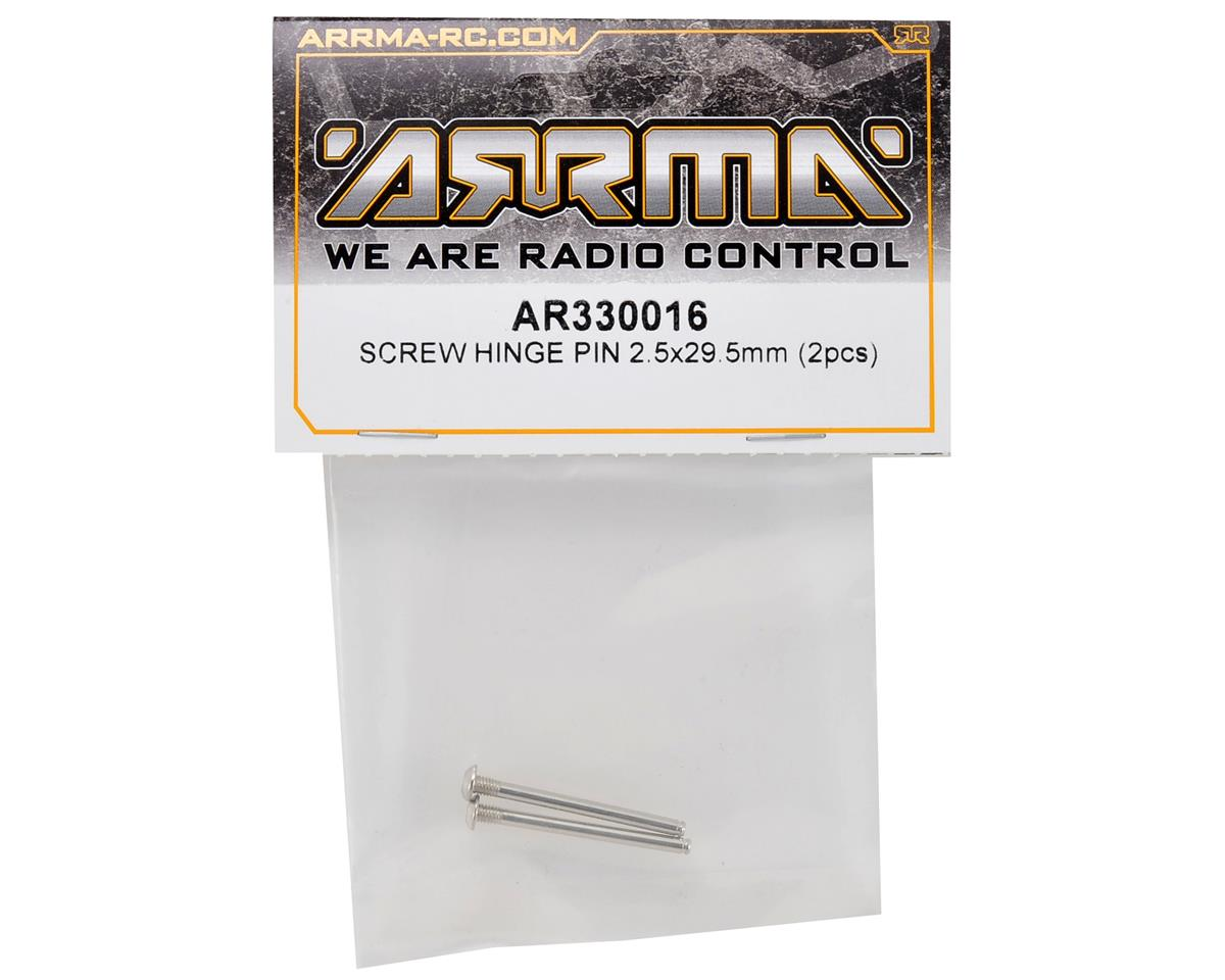 Arrma 2.5x29.5mm Screw Hinge Pin Set (2)