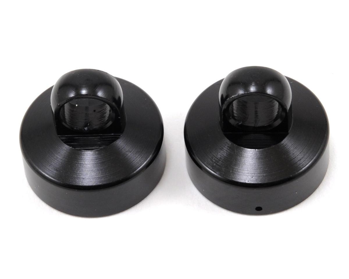 Arrma Aluminum Upper Shock Cap (Black) (2)