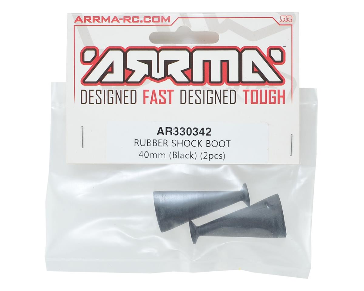 Arrma 40mm Shock Boot (Black) (2)
