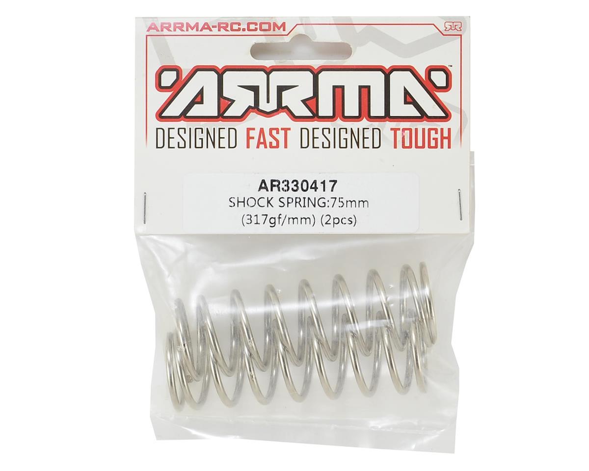 Arrma 75mm Shock Spring (2) (317gf/mm)