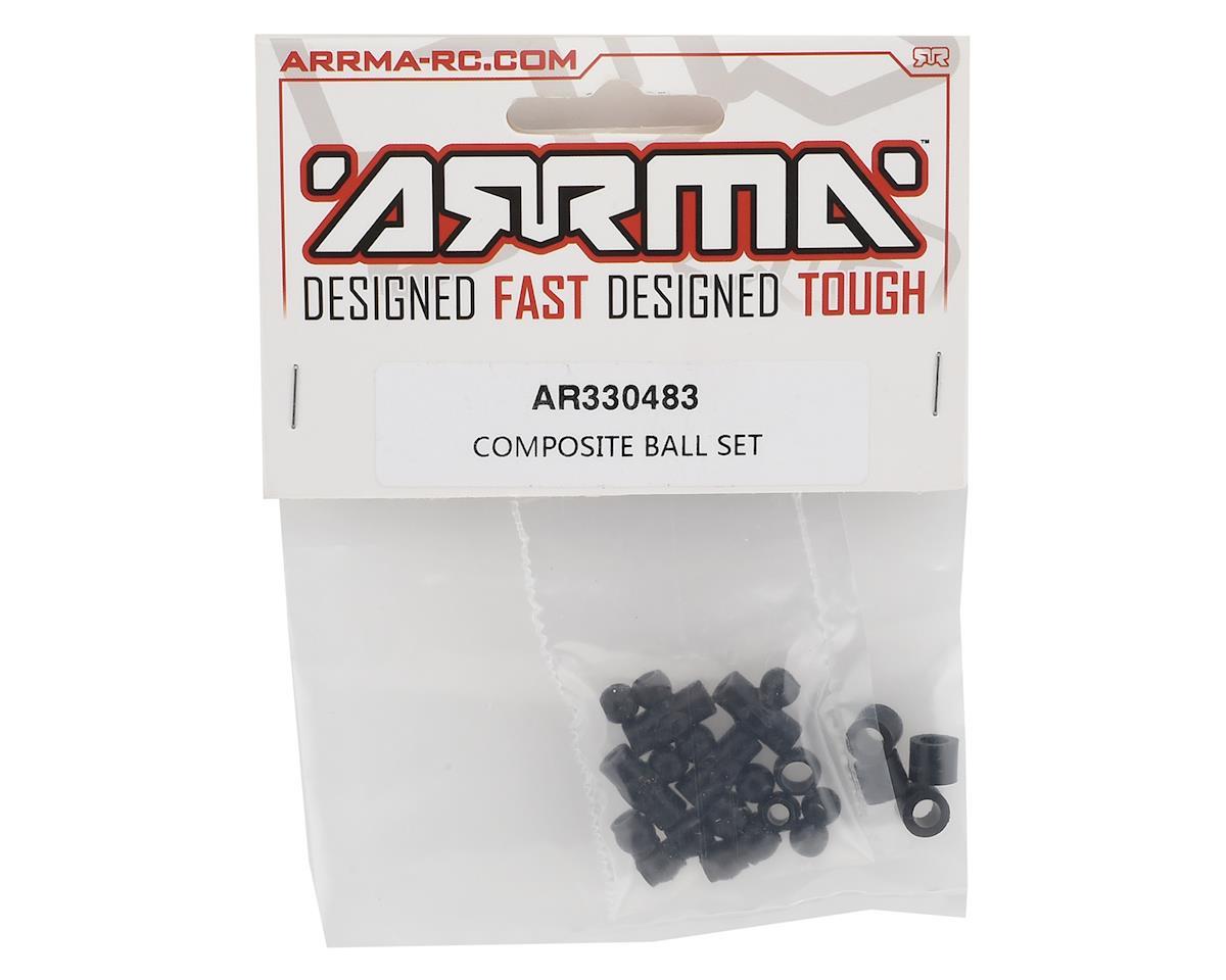 Arrma 6S Composite Ball Set