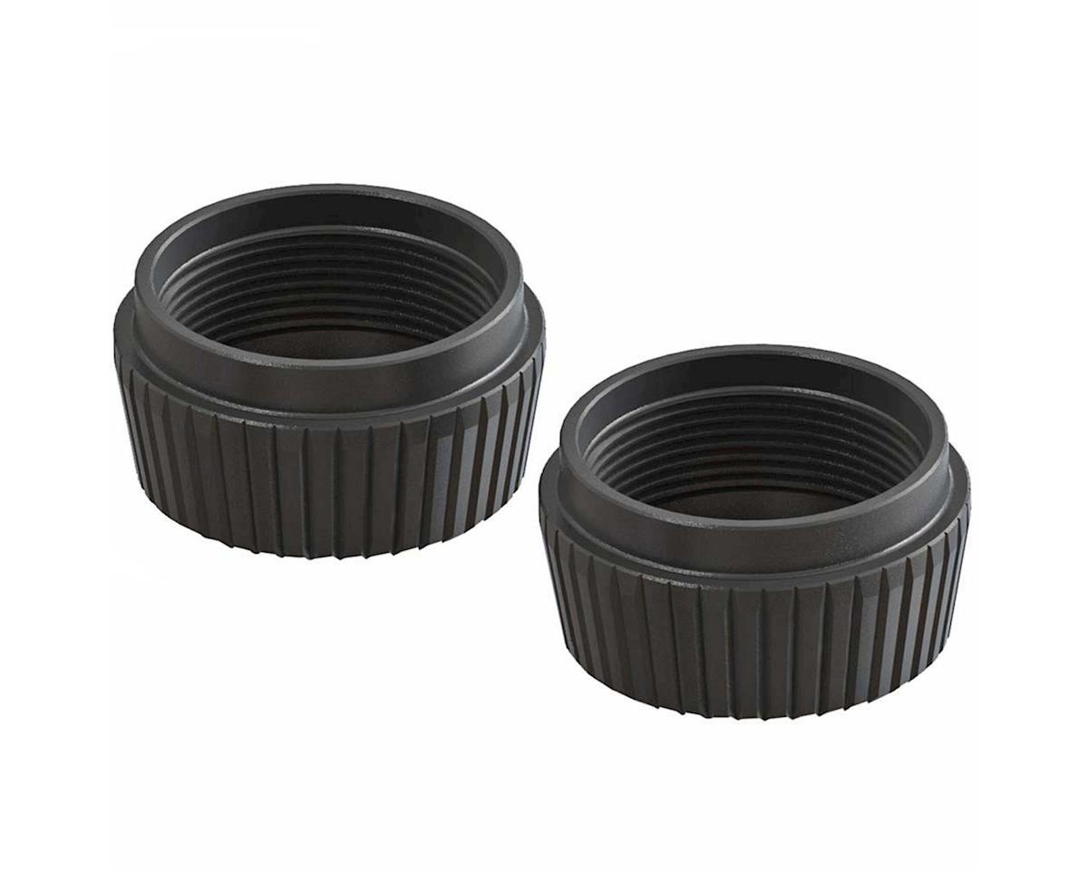 Arrma AR330513 Shock Cap Lower Aluminum Black 6S (2)