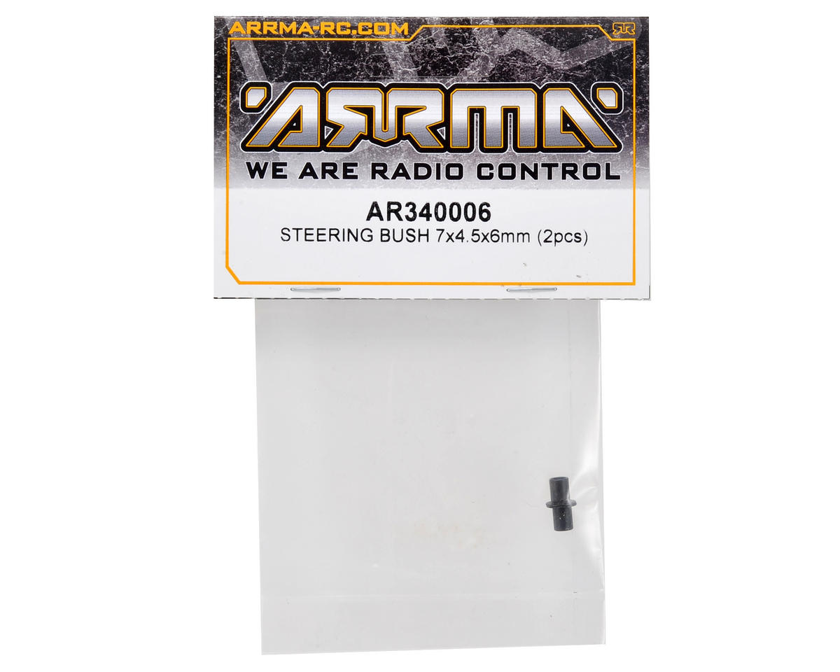 7x4.5x6mm Steering Bushing Set (2) by Arrma