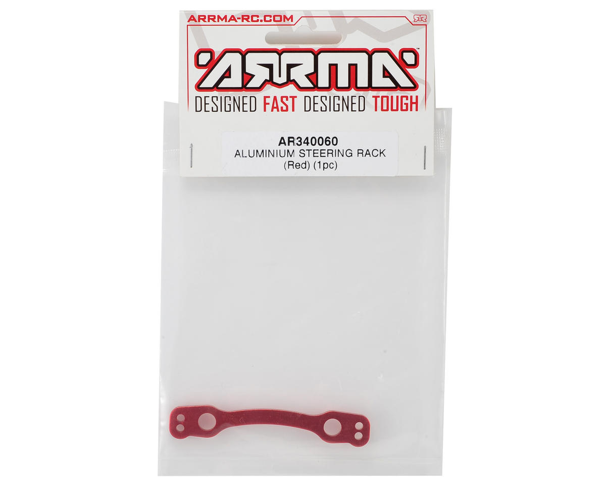 Arrma Aluminum Steering Rack (Red)
