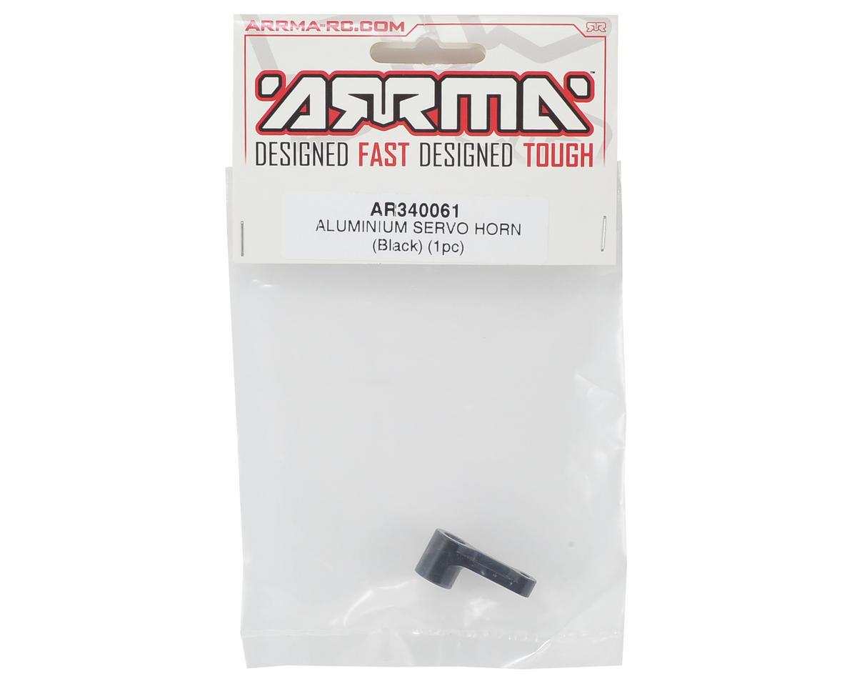 Arrma Aluminum Servo Horn (Black)