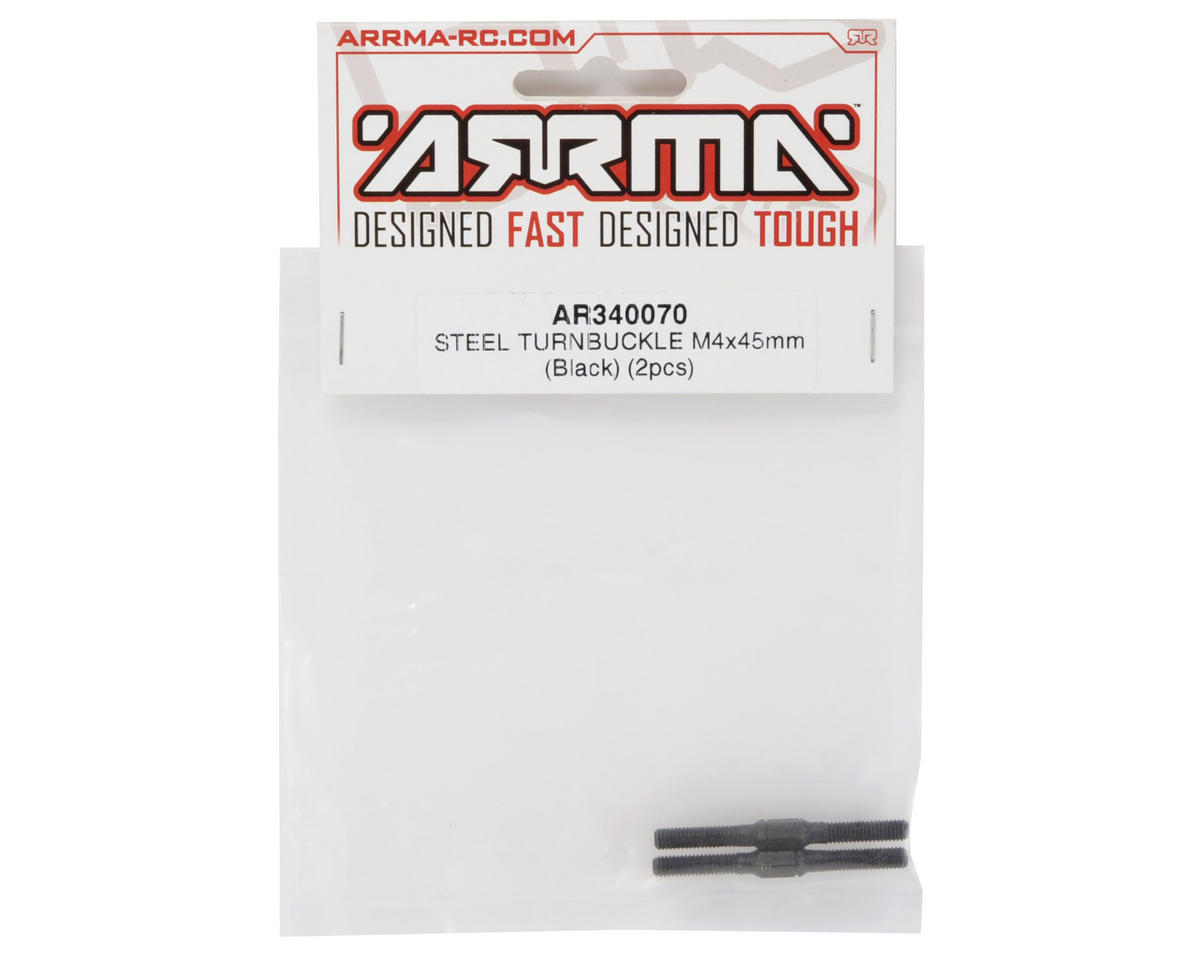 Arrma 4x45mm Steel Turnbuckle (2)