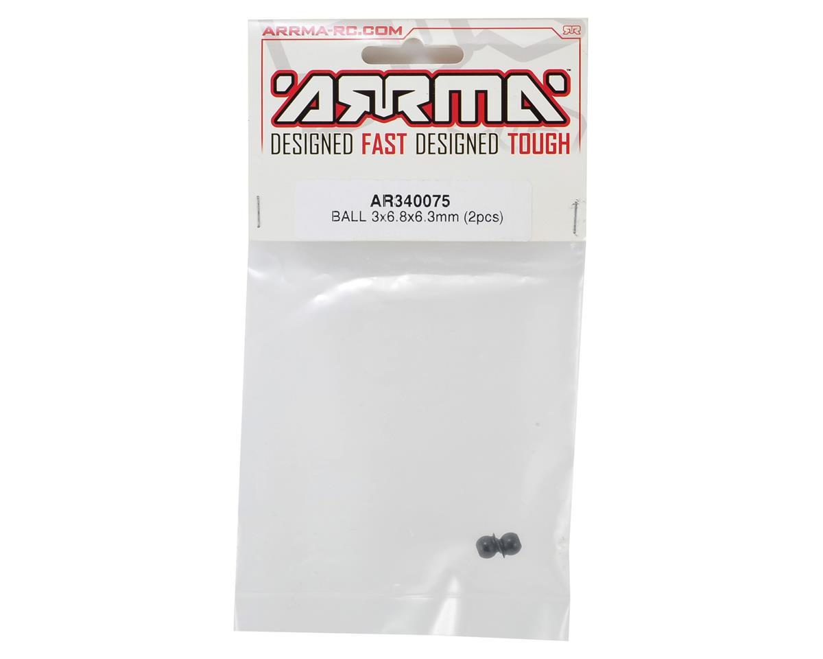 Arrma 3x6.8x6.3mm Ball (2)