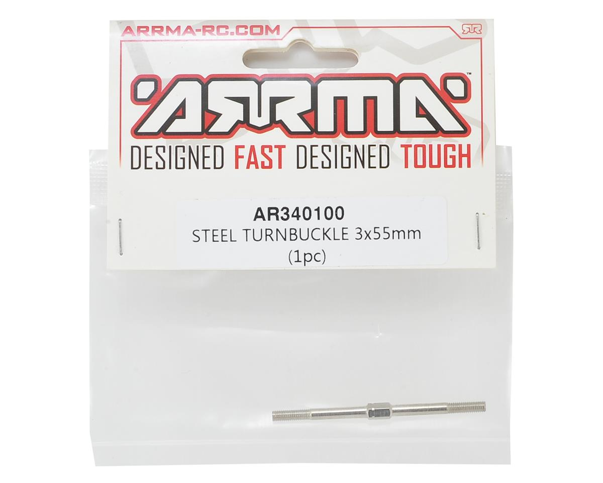 Arrma 3x55mm Steel Turnbuckle (1)