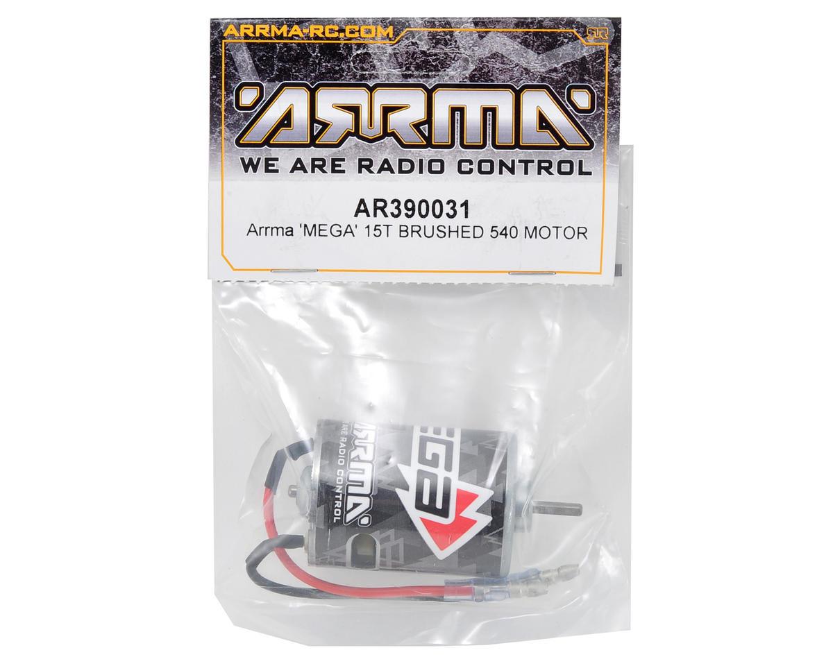 Arrma 540 Mega Brushed Motor (15T)