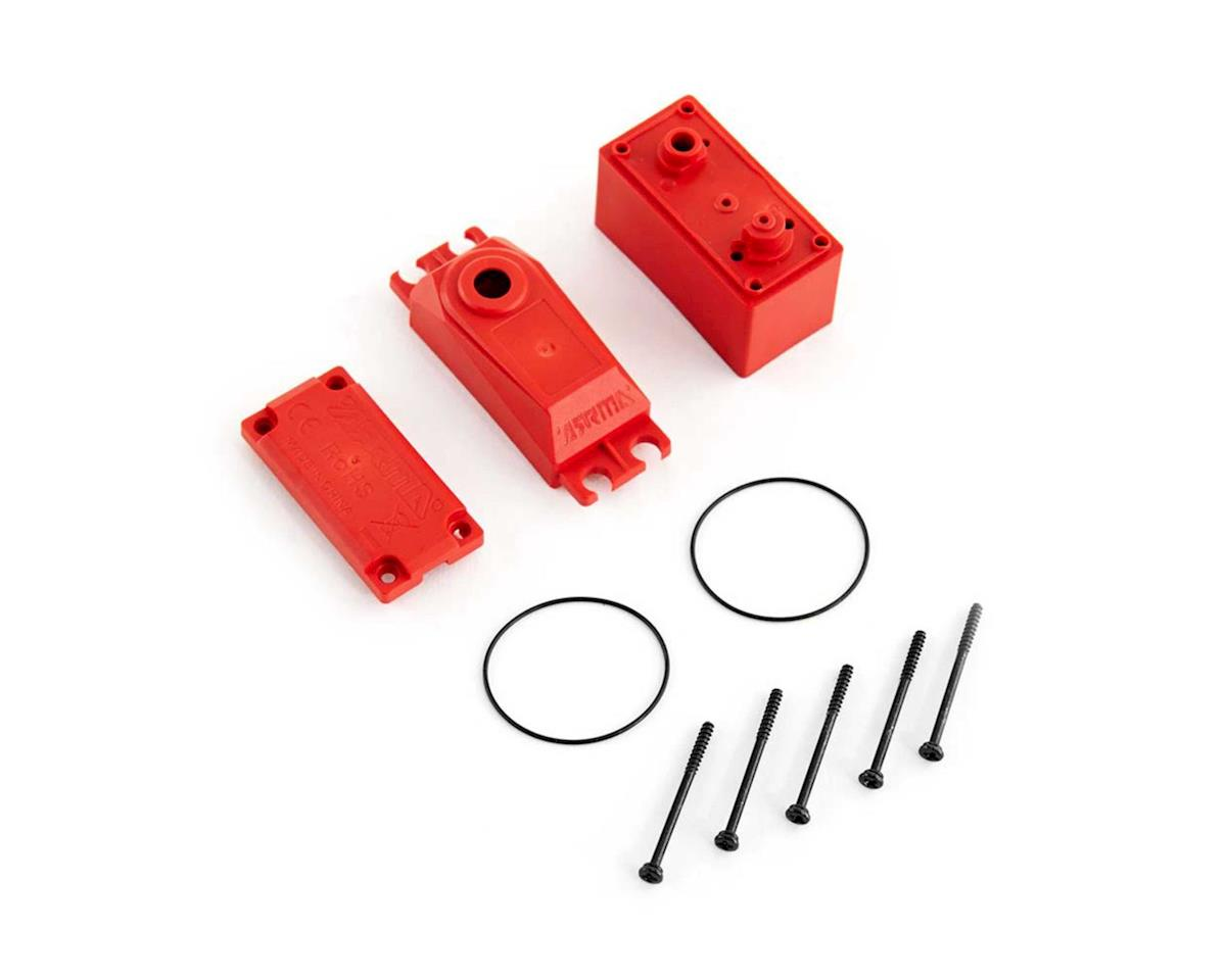 Arrma AR390146 ADS V2 Plastic Gear Servo Case Red
