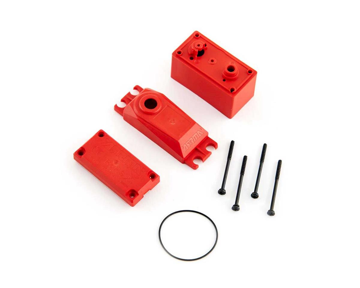 Arrma ADS Metal Gear Servo Case (Red)