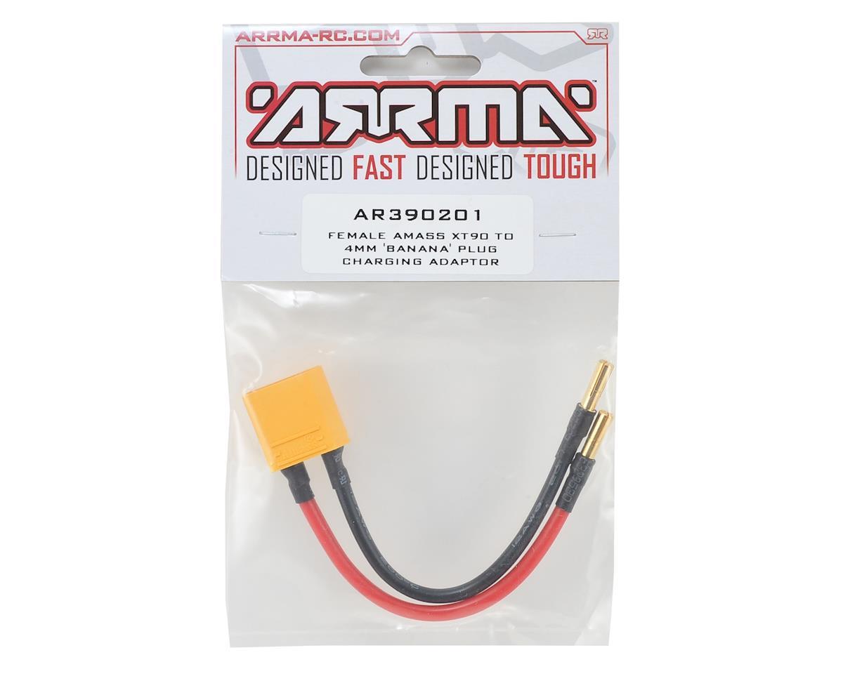 Arrma XT90 Male To 4mm 'Banana' Plug Charging Adaptor