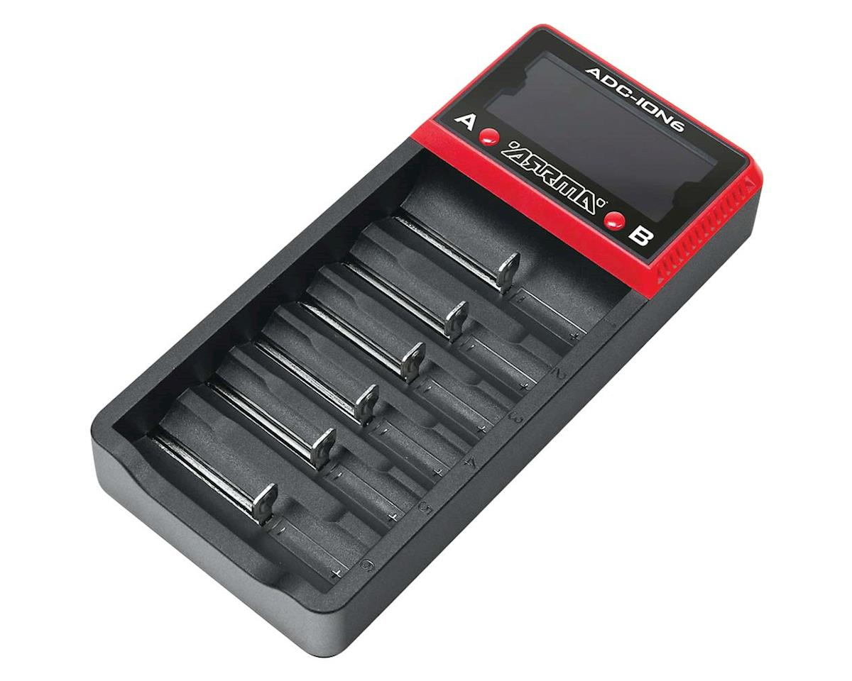 Arrma AR390262 18650 Li-Ion 6-Bay Battery Charger