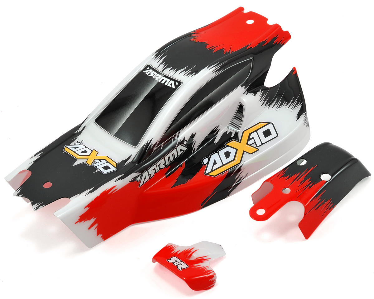 "Arrma ADX-10 ""Ripper"" Body & Wing (Red)"