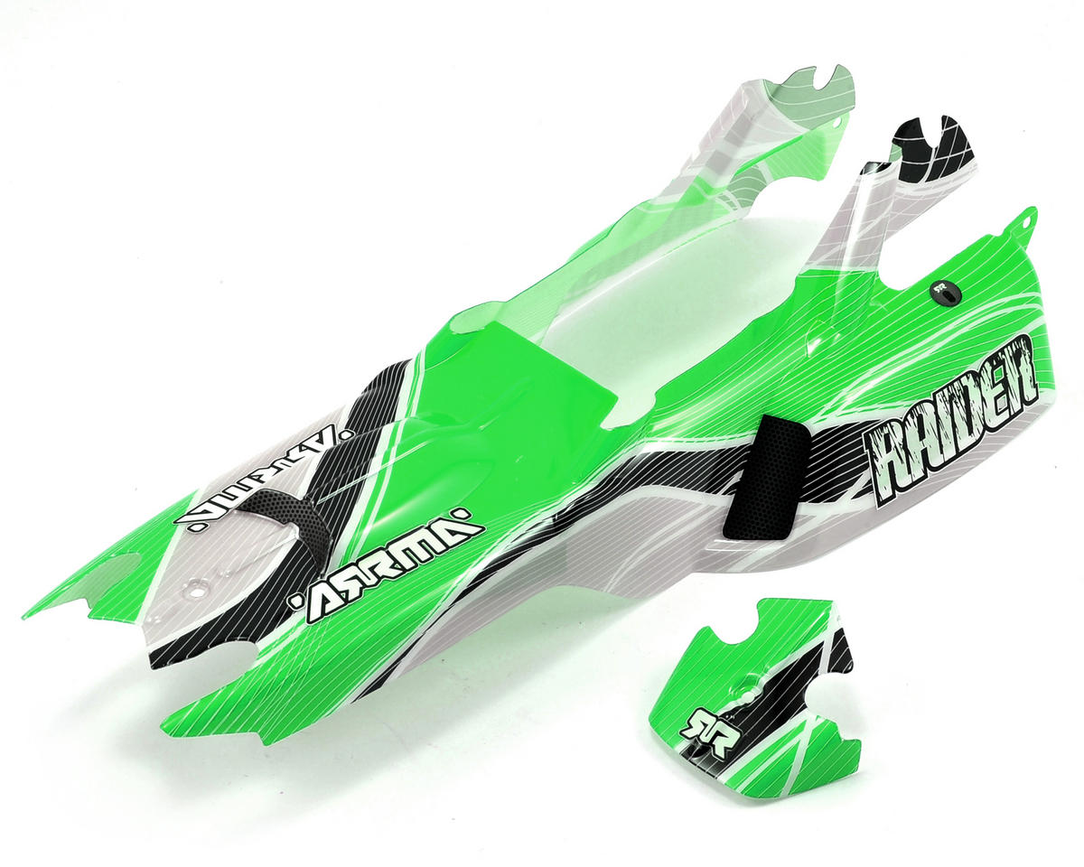 "Arrma Raider ""Warp"" Body (Green)"