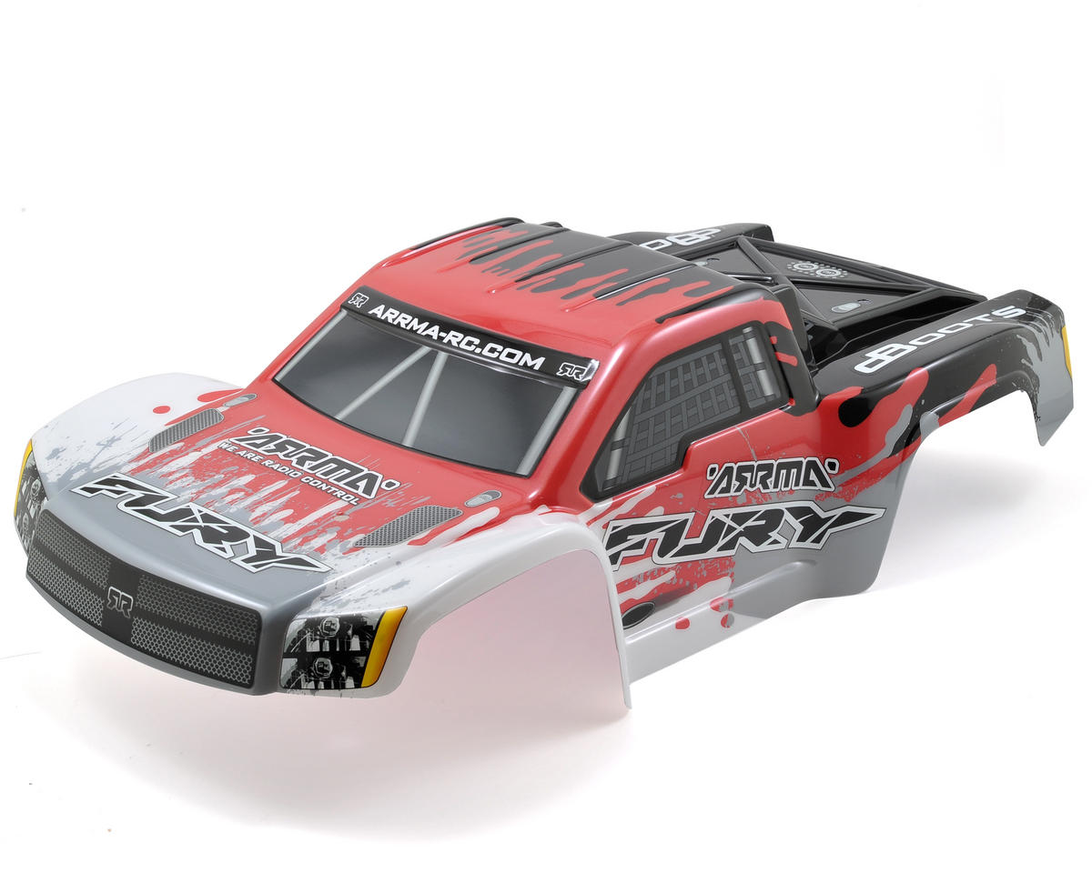 "Arrma Fury ""Salvador"" Body (Red)"