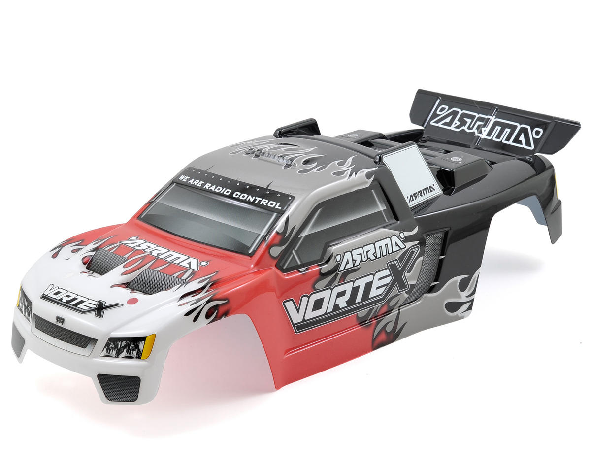 "Arrma Vortex ""Lick"" Body (Red)"