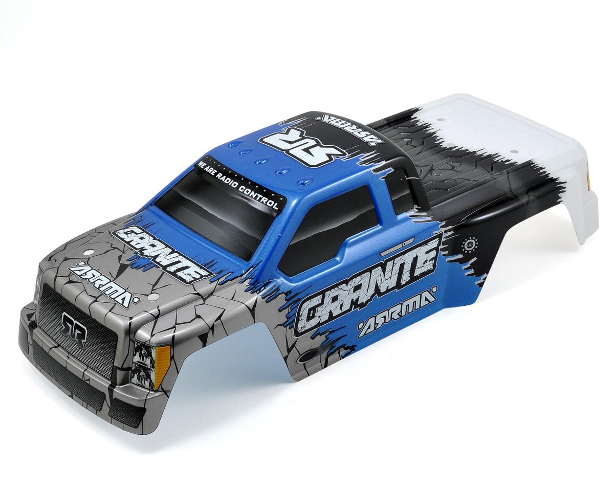 "Arrma Granite ""Hardcore"" Body (Blue)"