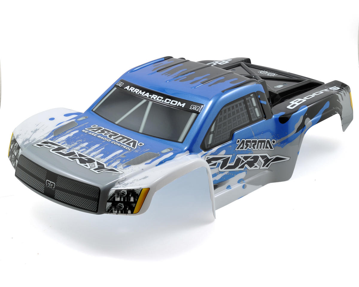 "Arrma Fury ""Salvador"" Body (Blue)"