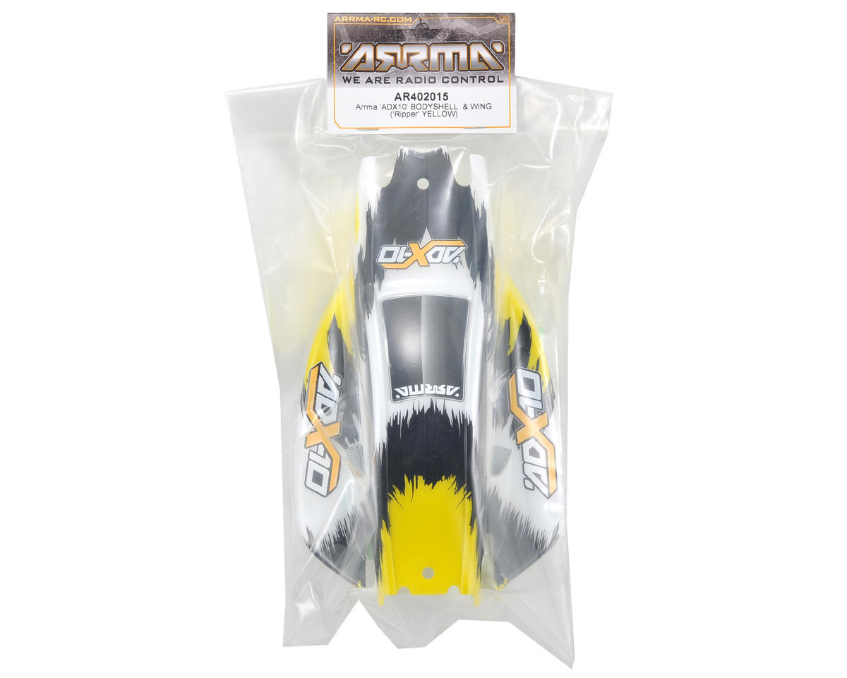 "Arrma ADX-10 ""Ripper"" Body (Yellow)"