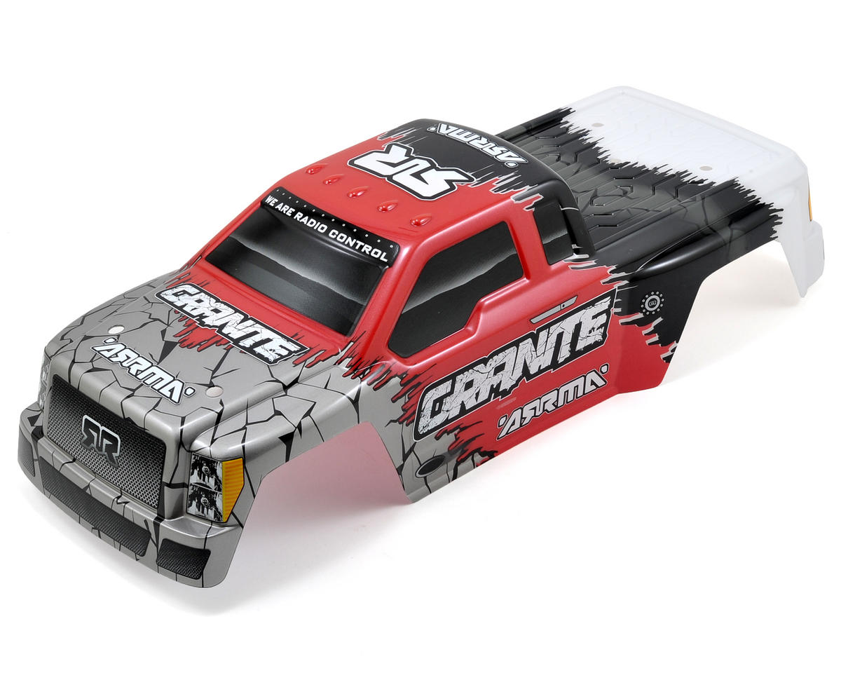 "Arrma Granite ""Hardcore"" Body (Red)"