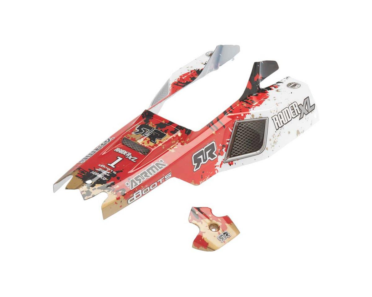AR402116 Body Raider XL Mega Red/White by Arrma