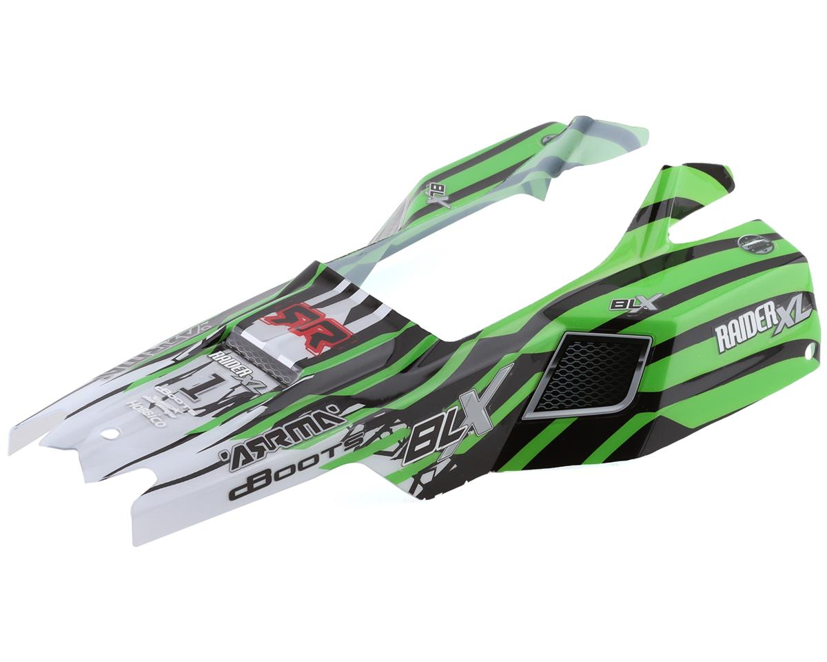 Arrma Body Painted Green Raider XL 2016