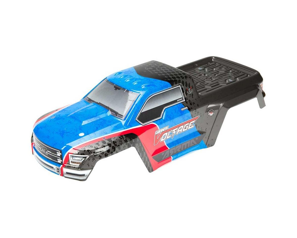 AR402198 Body Painted Decaled Granite Blue/Black Voltag by Arrma