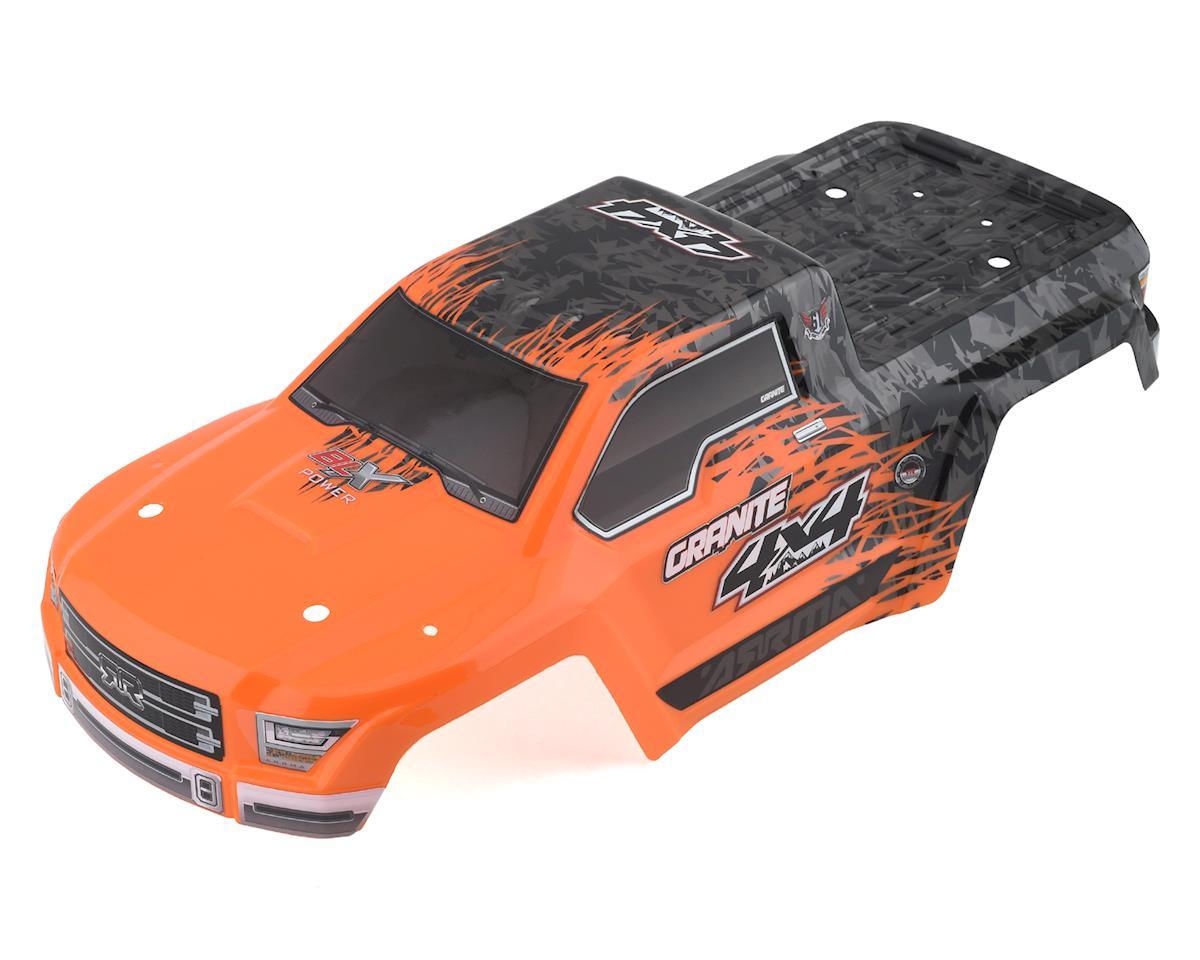 Arrma Granite 4x4 550 BLX Pre-Painted Body (Orange)