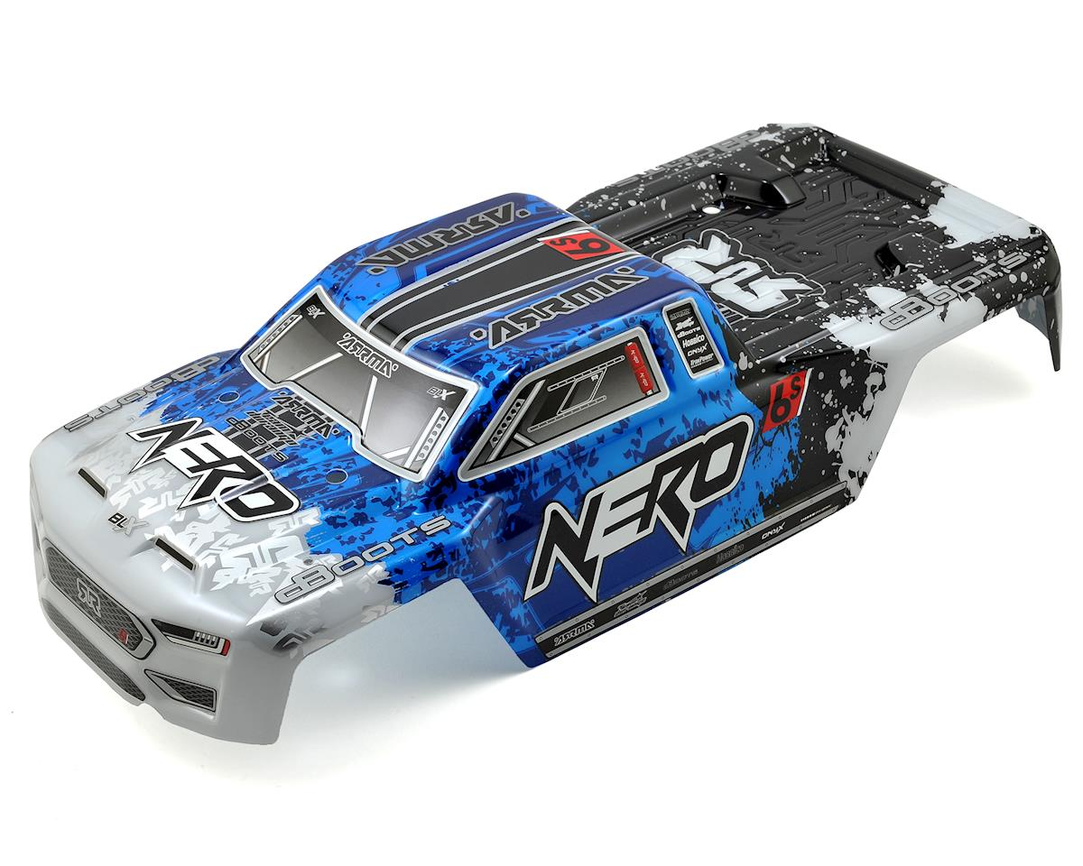 Arrma Nero 6S BLX Pre-Painted Monster Truck Body (Blue)