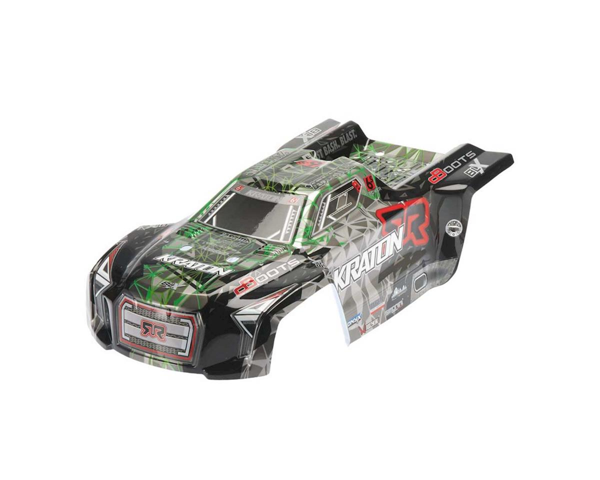 AR406053 Body Green/Black Kraton 6S Painted II by Arrma