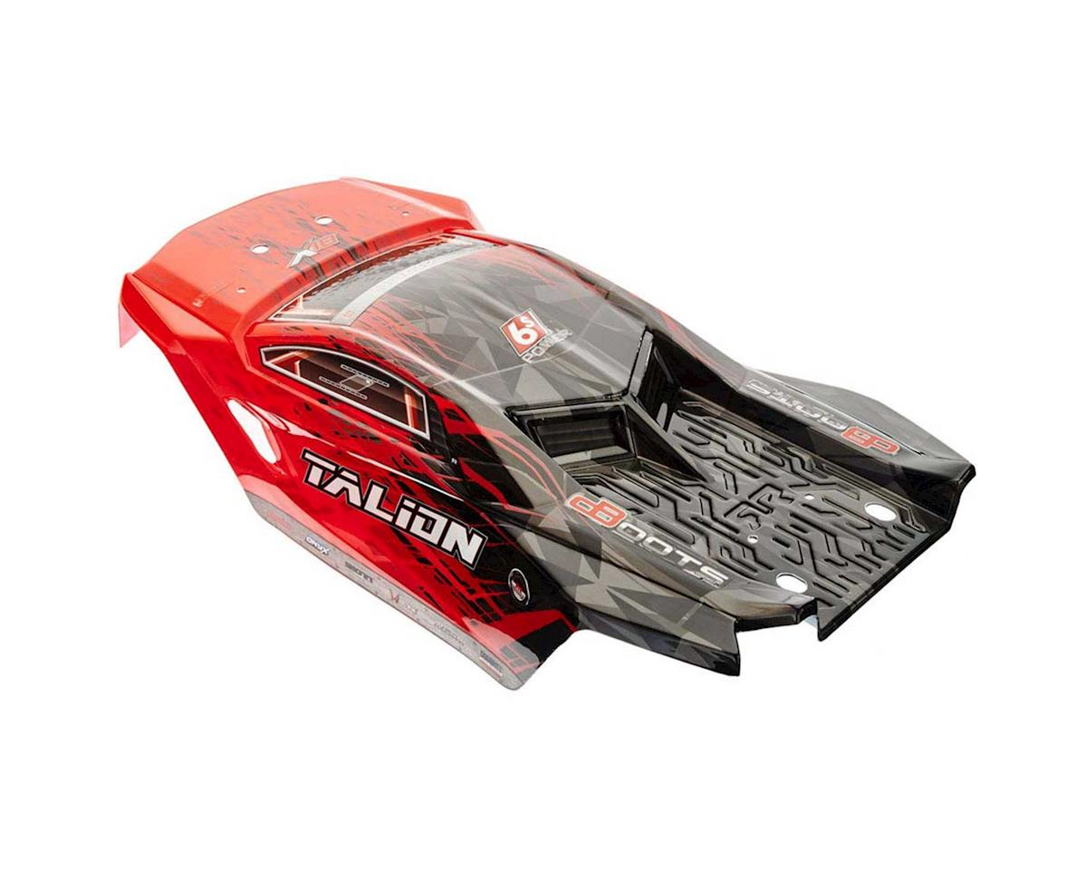 Arrma Talion 6S BLX 1/8 Pre-Painted Truck Body w/Decals (Red/Black)