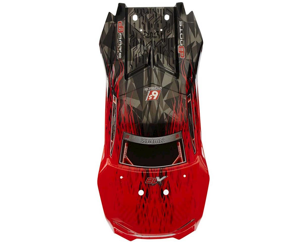 Arrma Body Red/Black Painted W/Decals Talion 6S BLX