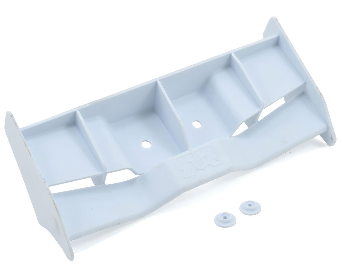 Arrma 204mm Rear Wing (White) (Arrma RC Kraton)