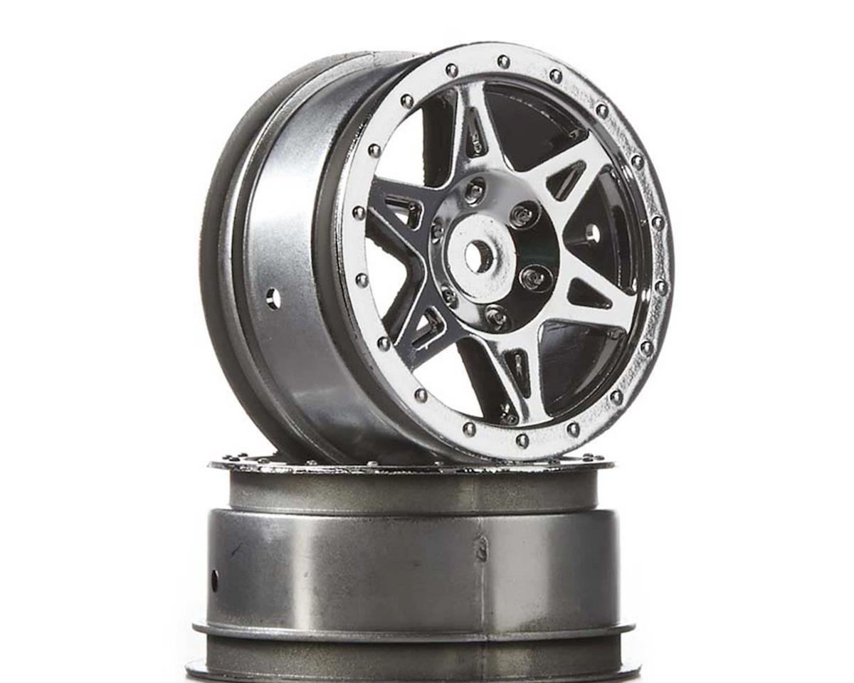 AR510040 Wheel Front Raider Chrome by Arrma
