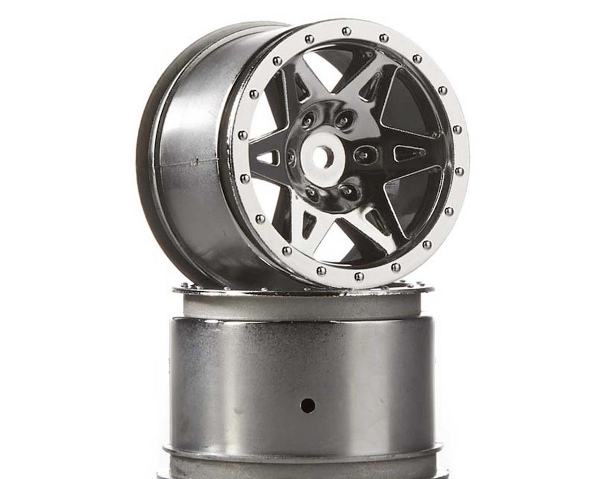 AR510041 Wheel Rear Raider Chrome by Arrma