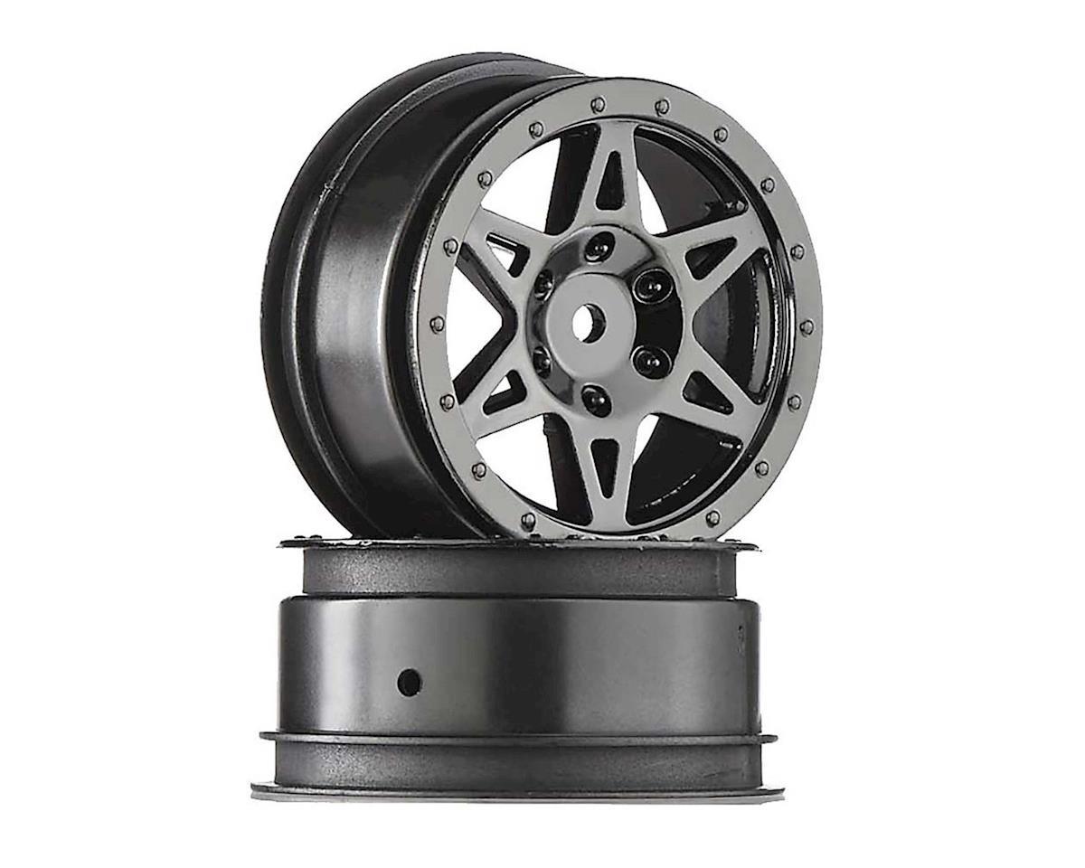 Arrma AR510042 Wheel Front Raider Black Chrome