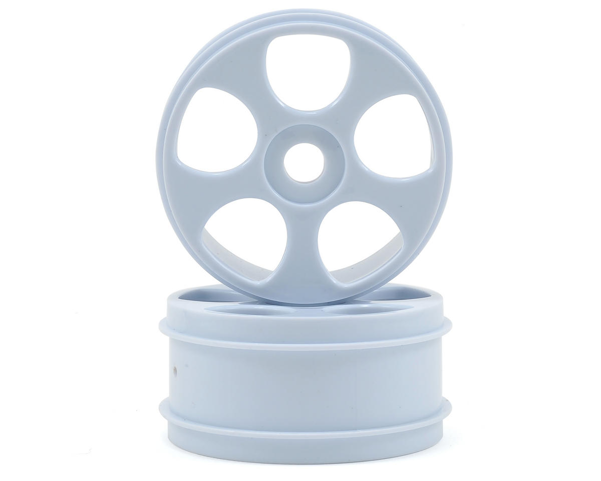Arrma 5-Spoke Wheel (White)  (2)