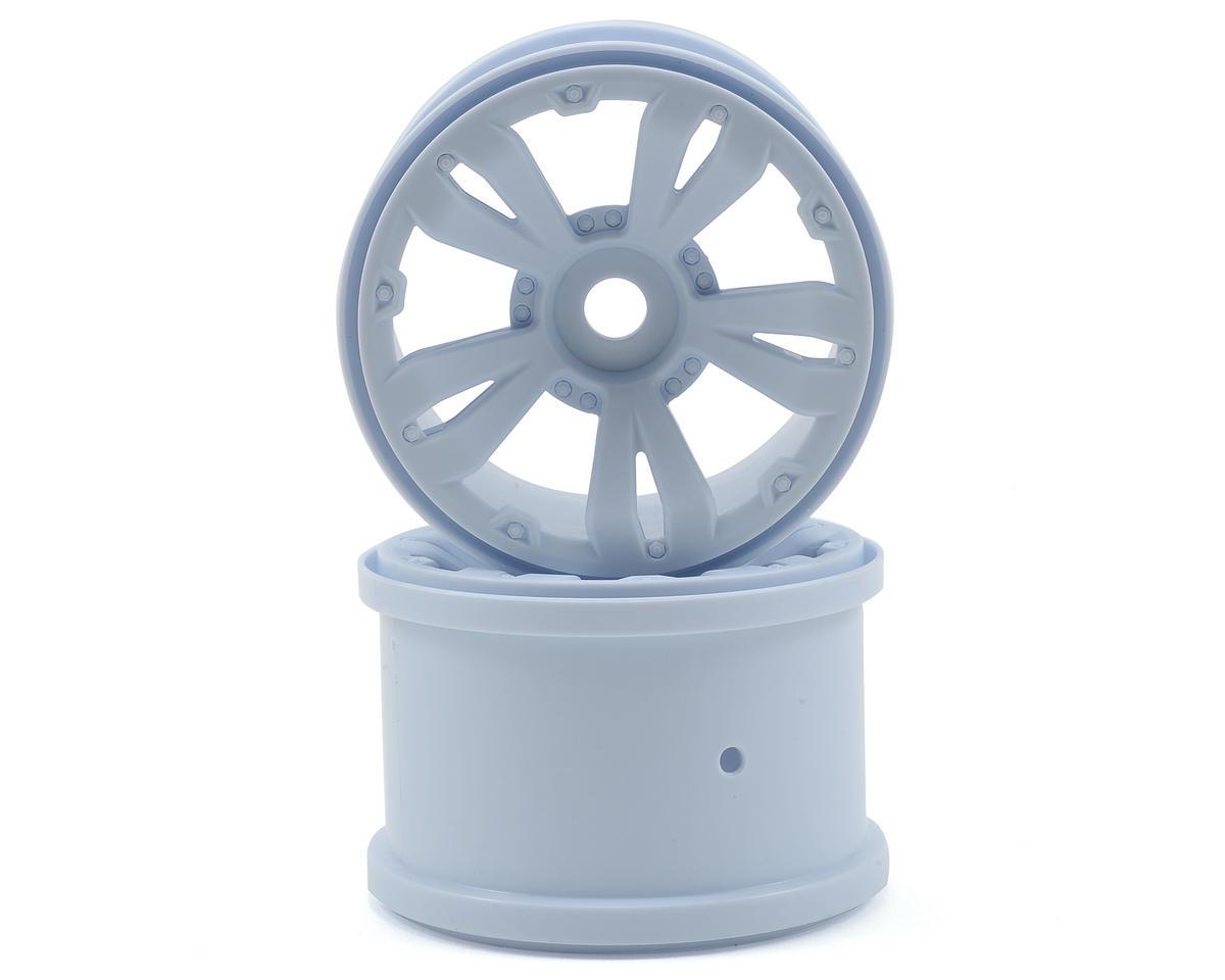 Arrma 5-Spoke Split Wheel (White) (2)